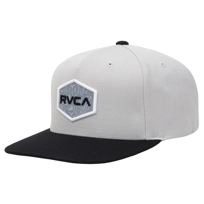 Boné RVCA Commonwealth Snapback Light Grey