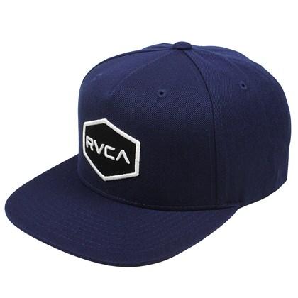 Boné RVCA Commonwealth Snapback Navy