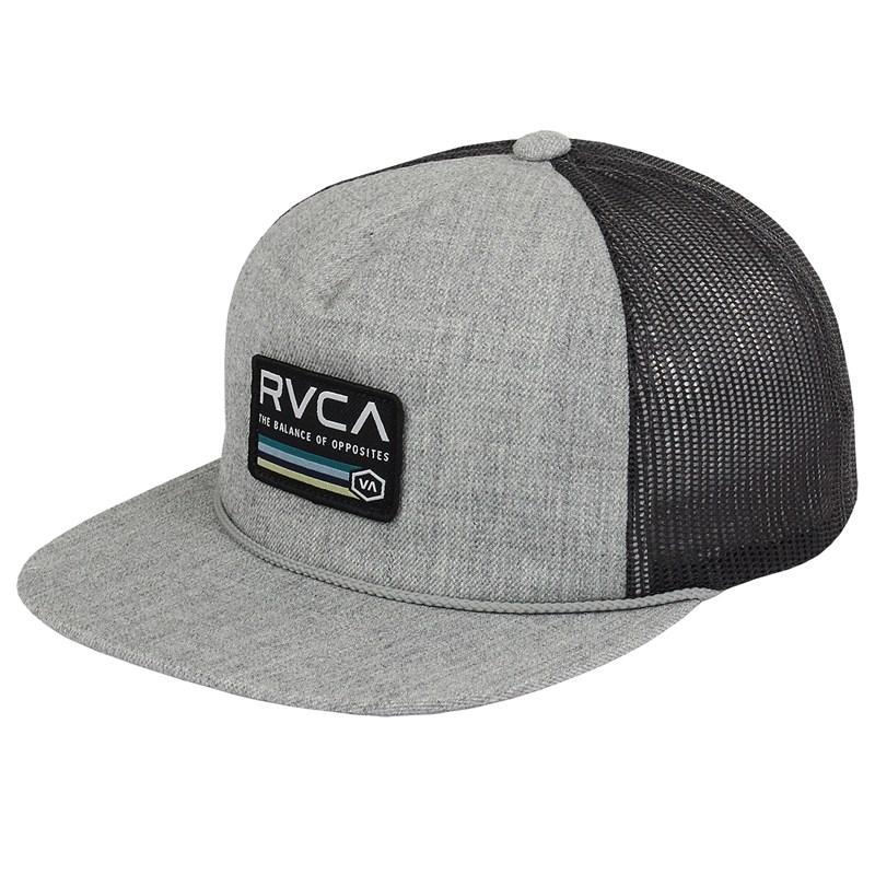 Boné RVCA Snapback Mechanic Trucker Grey Heather
