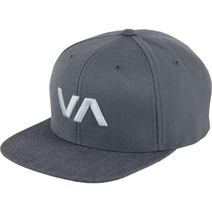 Boné RVCA Snapback VA II Charcoal