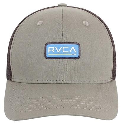 Boné RVCA Ticket Trucker II Brown