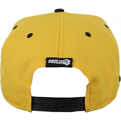 BONÉ SECTOR 9 BALL SNAPBACK NEW ERA YELLOW IMPORTADO
