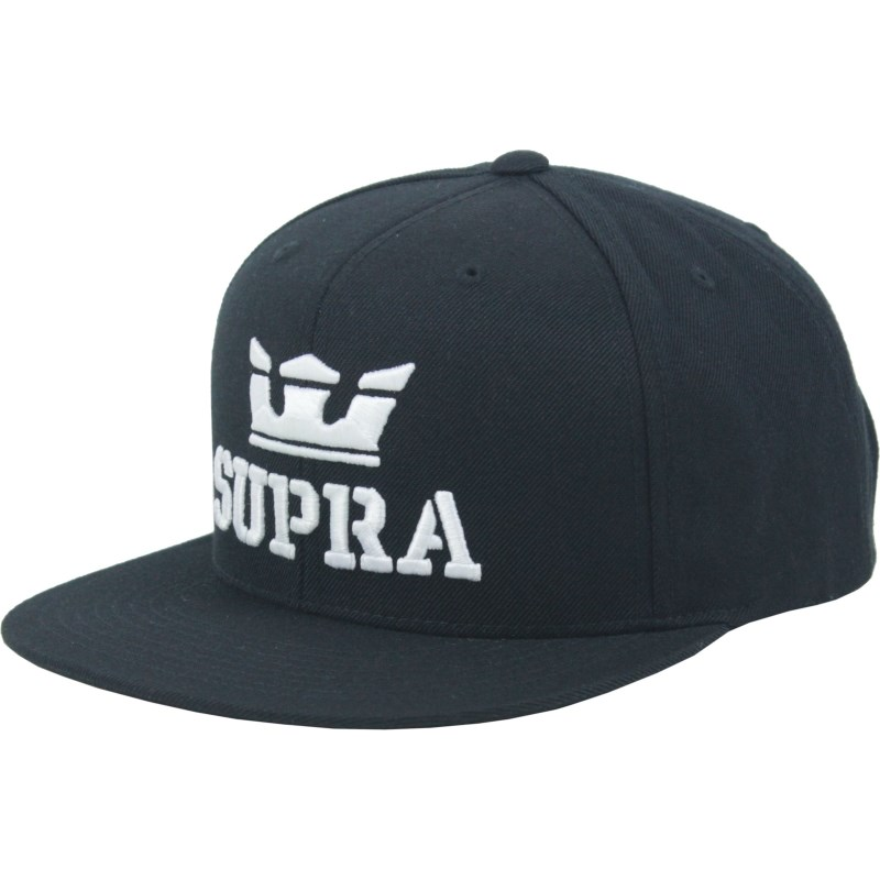 Boné Supra Above Snapback Black