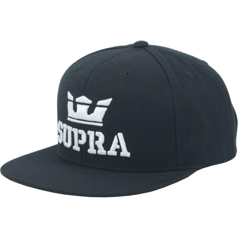 Boné Supra Above Snapback Black
