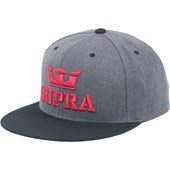 Boné Supra Above Snapback Charcoal Heather