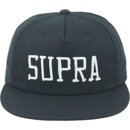 Boné Supra Sketch Snapback Black
