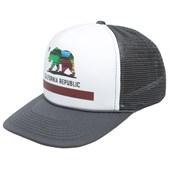 Boné Trucker Surf Alive California Republic Charcoal