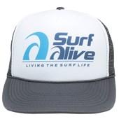 Boné Trucker Surf Alive Charcoal