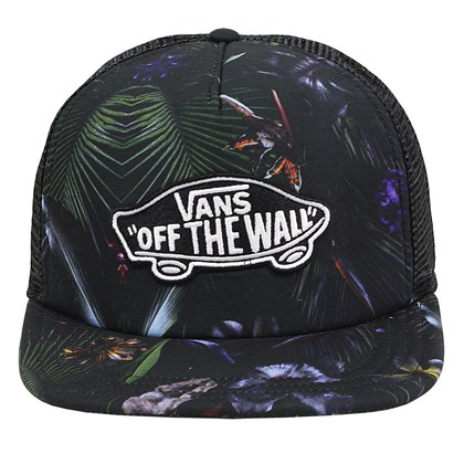 Boné Vans Classic Patch Trucker Neo Jungle