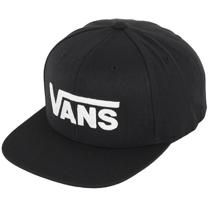 Boné Vans Drop V Snapback Black White