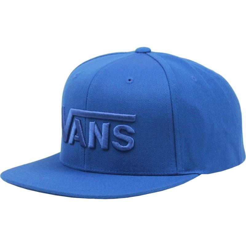 Boné Vans Drop V Snapback True Blue
