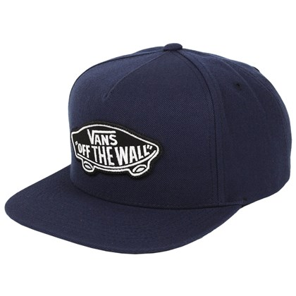 Boné Vans Snapback Classic Patch S Dress Blues