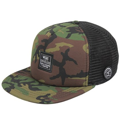 Boné Vans VTCS Patch Trucker Camo
