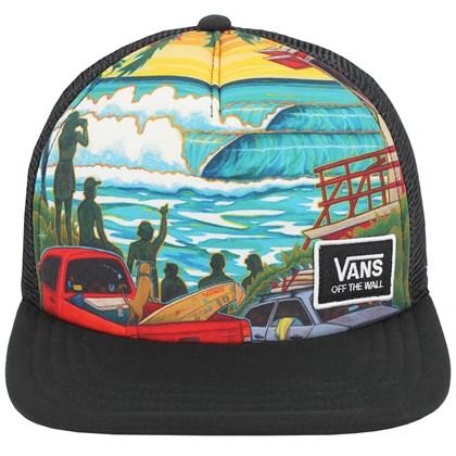 Boné Vans VTCS Poster Trucker Black