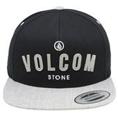 Boné Volcom Stoned Guard Snapback Black Grey