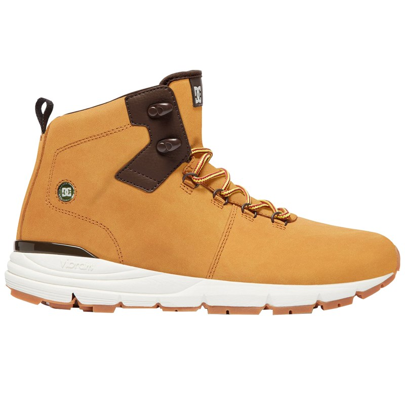 Bota DC Shoes Muirland Lace Up Leahter Wheat
