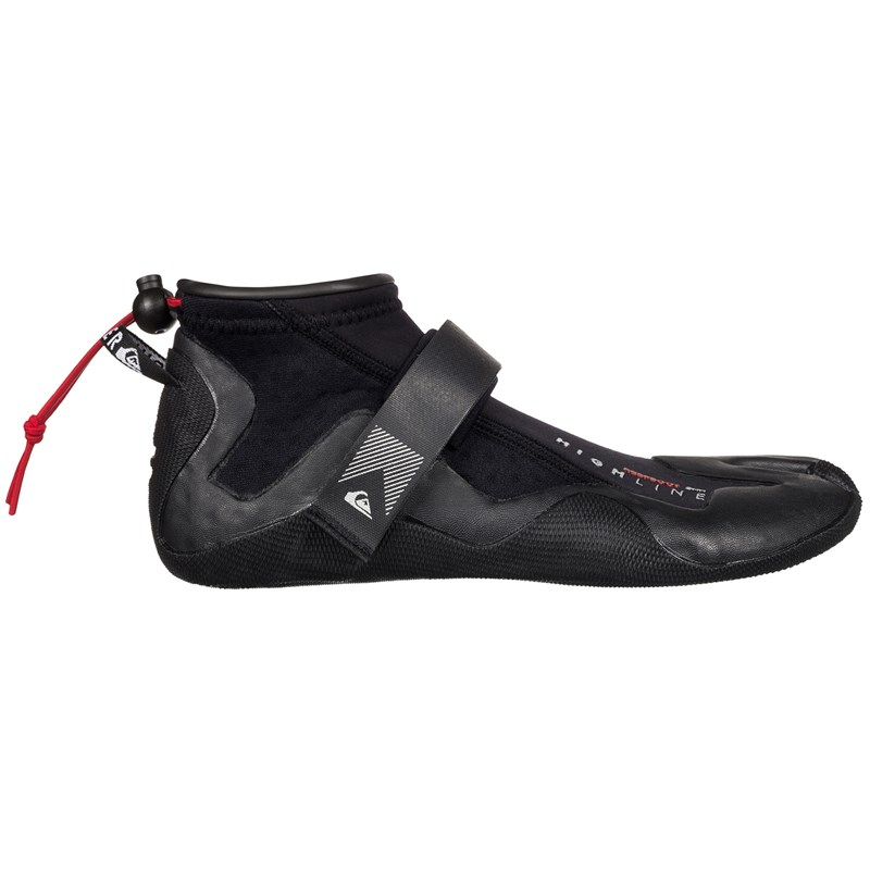 Home · Surf · Roupa de Borracha · bota-gorro-luva. Bota de Neoprene  Quiksilver HLine 2mm Reef Split Boot Black 8485cffce89