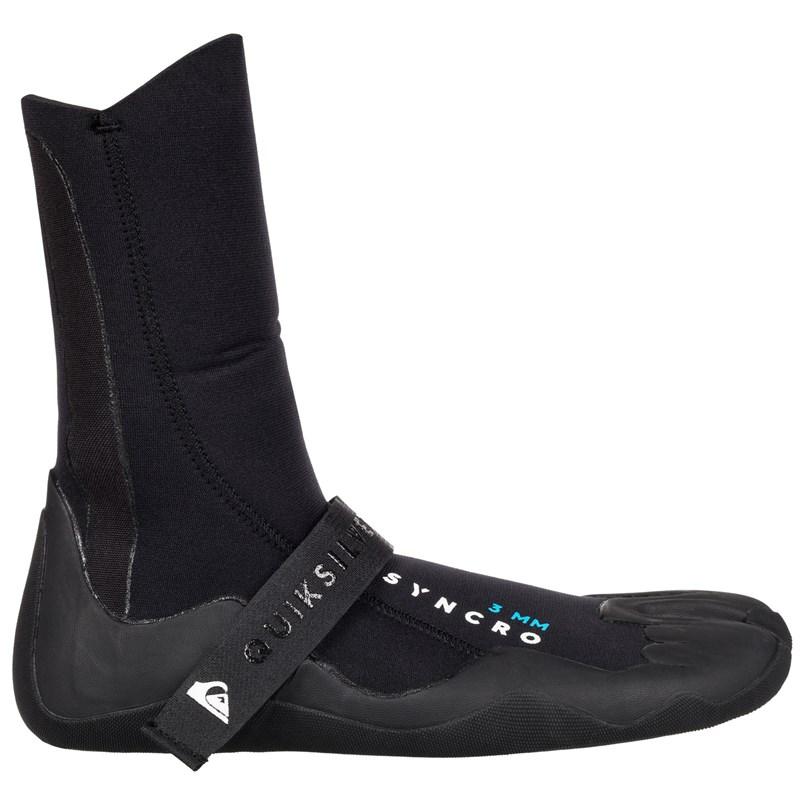 Bota de Neoprene Quiksilver Syncro 3.0 Split Toe Black