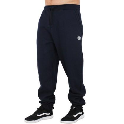 Calça de Moletom Extra Grande Element Basic Logo Navy