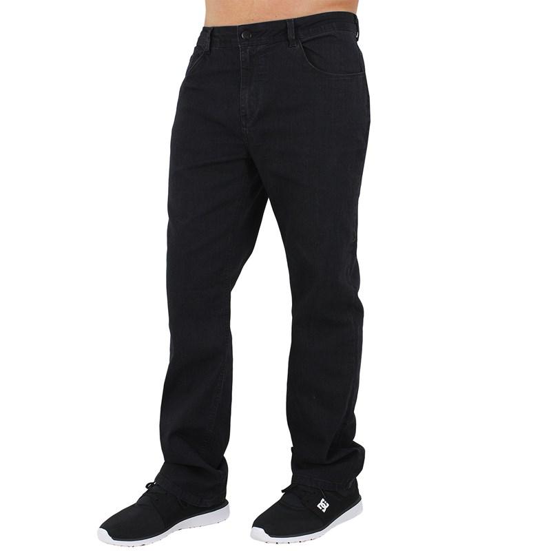 Calça Jeans Extra Grande Rusty Atoll Black
