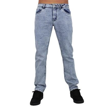 Calça Jeans Volcom Slim Fit Vorta Light Blue