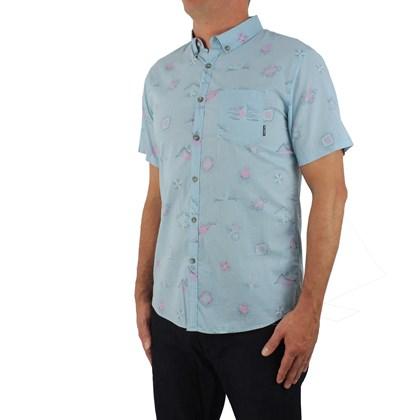 Camisa Billabong Sundays Mini Seafoam