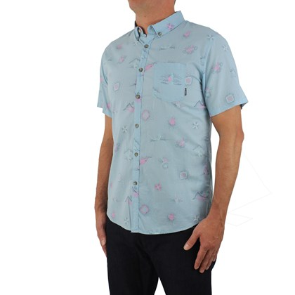 Camisa Billabong Sundays Mini Seafoam