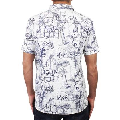 Camisa Element Hallen Manga Curta Branca