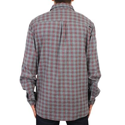Camisa Extra Grande Rip Curl Beam Manga Longa Dark Grey