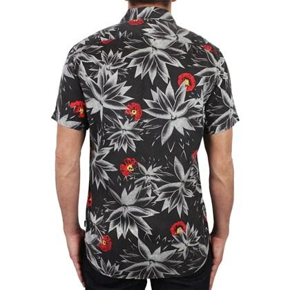 Camisa Quiksilver Agave Black Importada