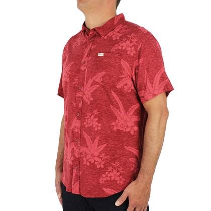 Camisa RVCA Hawaiian Garnet