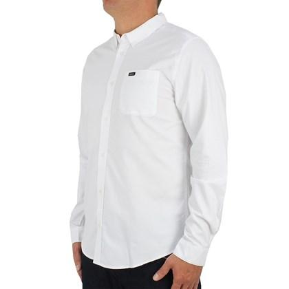 Camisa RVCA Manga Longa Oxford White