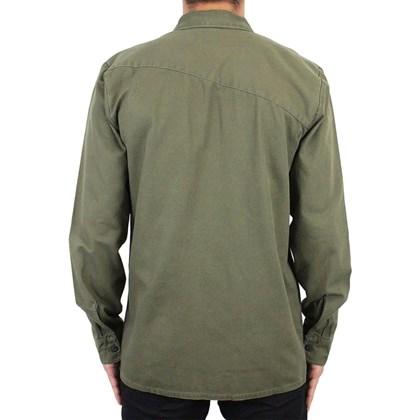 Camisa Volcom Crawford Manga Longa Militar