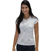 CAMISETA BABY LOOK RIP CURL SHOCK PACK FEMININA WHITE