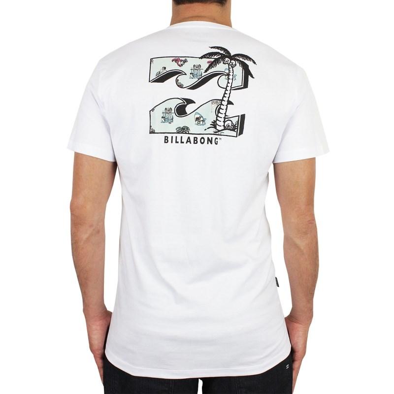 Camiseta Billabong BBVT Branca