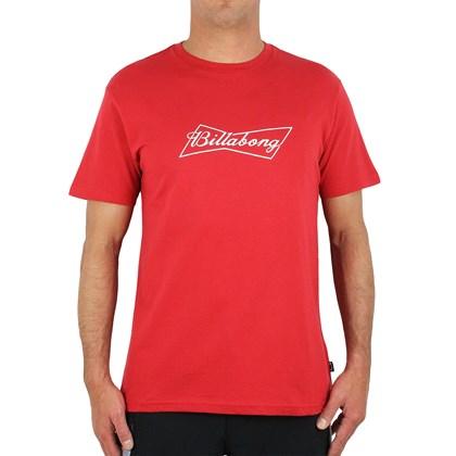 Camiseta Billabong Bud Bow Red