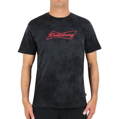 Camiseta Billabong Bud Bow Tie Dye Black