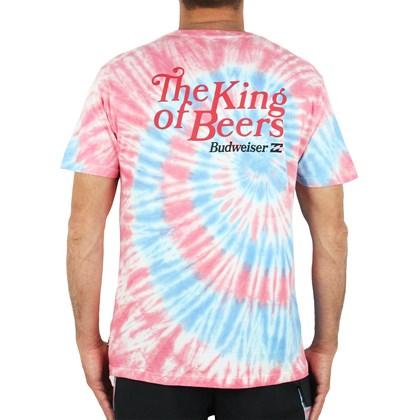 Camiseta Billabong Bud King Of Beers White