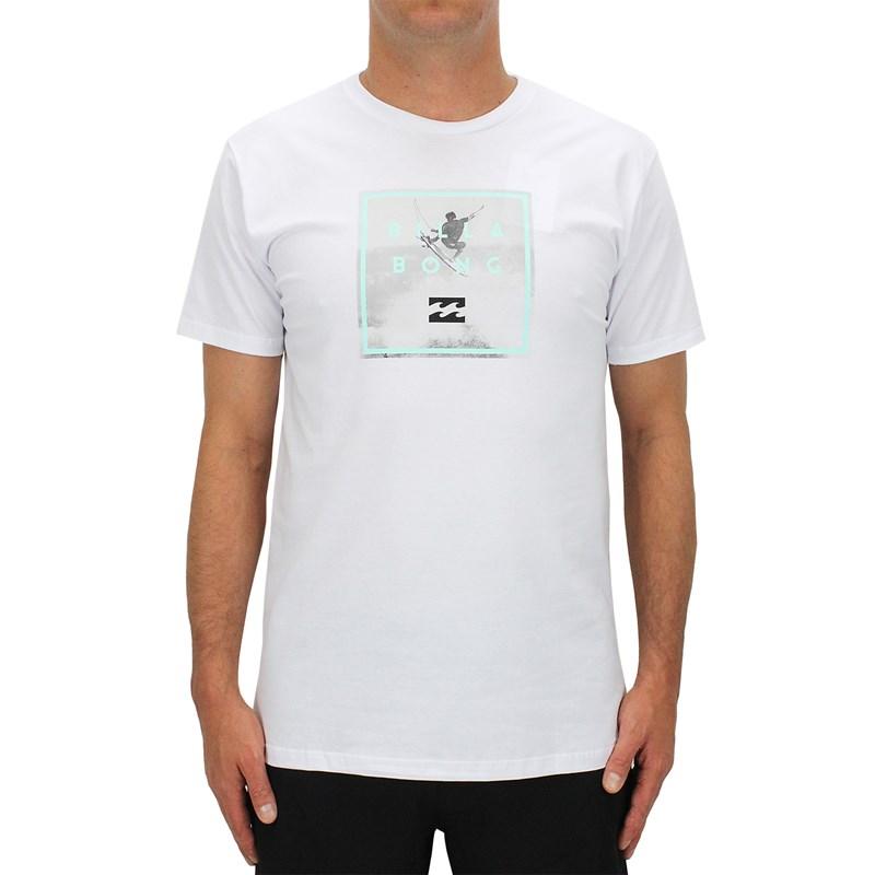 Camiseta Billabong Fifty50 Italo Ferreira Branca