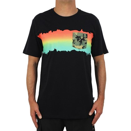 Camiseta Billabong Fire Pocket Black