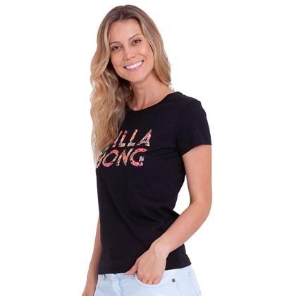 Camiseta Billabong Forest Billa Preta