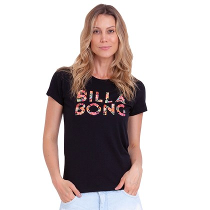 Camiseta Billabong Forest Billa Preta