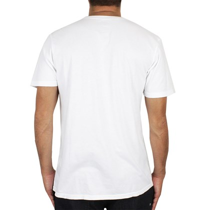 Camiseta Billabong Iggy Pop Raw Power Vintage White