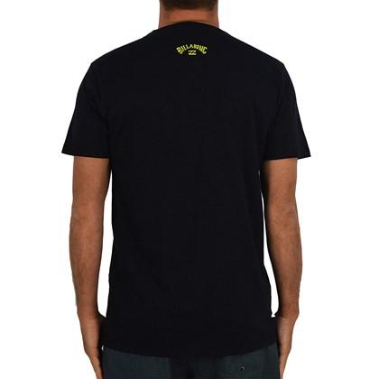Camiseta Billabong Italo Stoked Preta