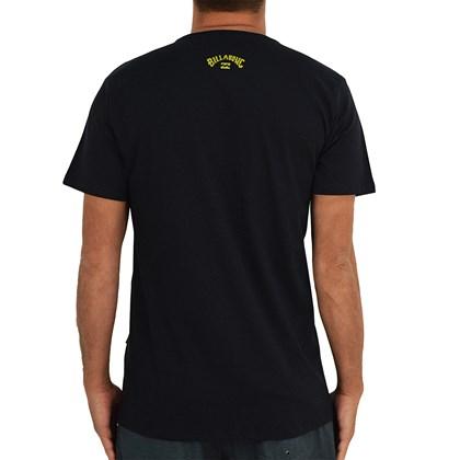 Camiseta Billabong Italo World Title Preta