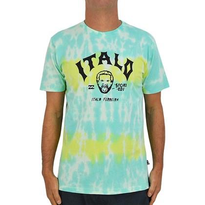 Camiseta Billabong Italo World Title Tie Dye Multi