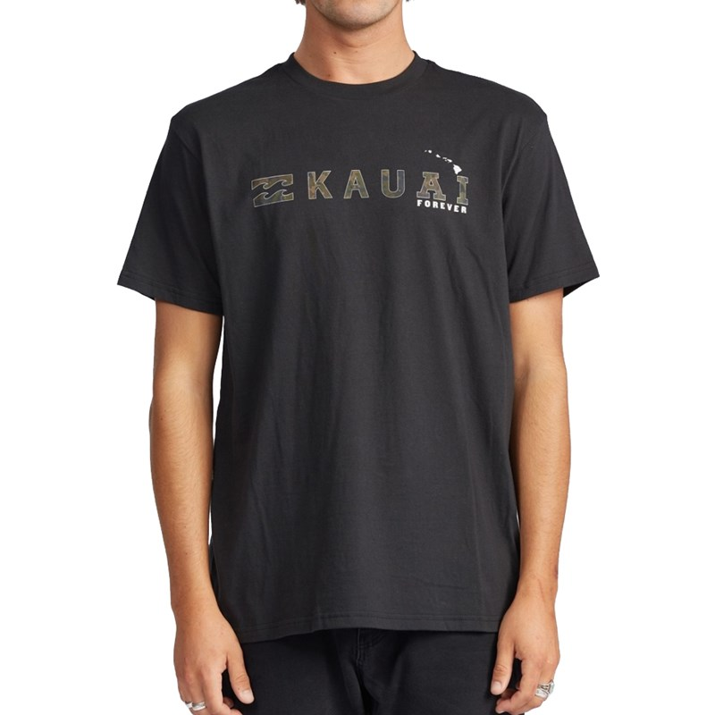 Camiseta Billabong Kauai Black