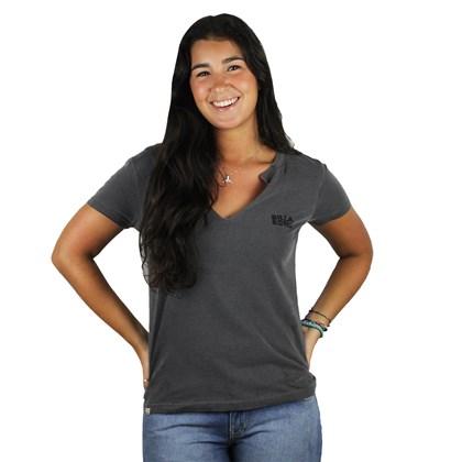 Camiseta Billabong Legacy Cinza ... 1b6442b97b9