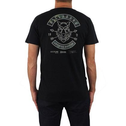 Camiseta Billabong Multicam Adventure Division Preto