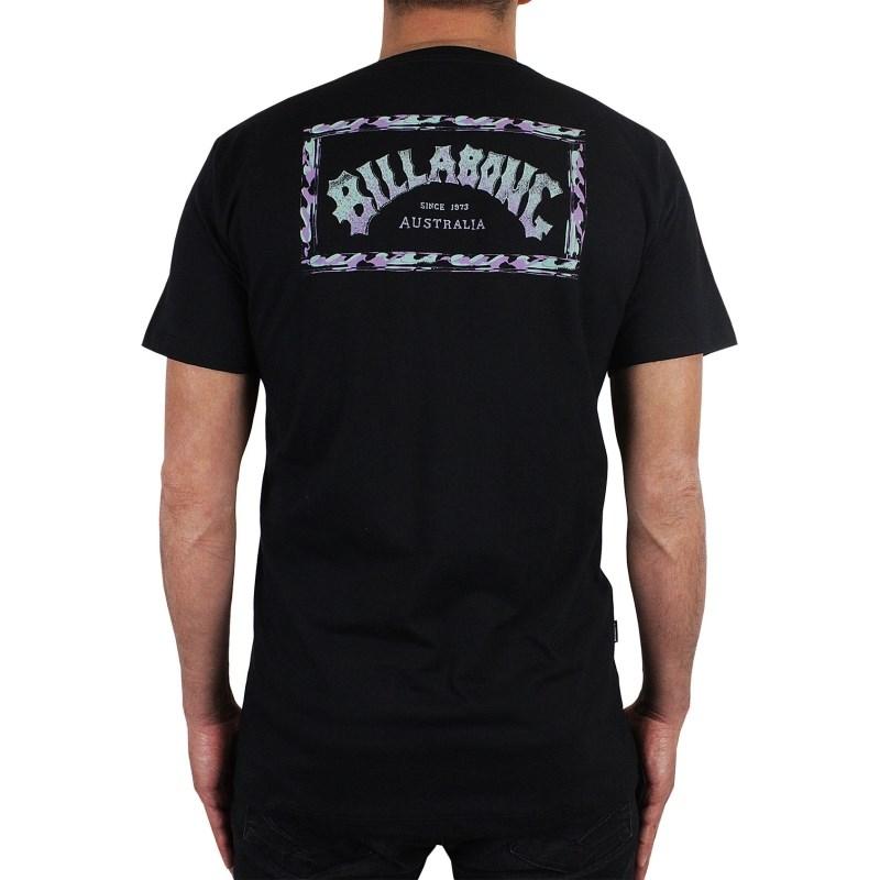 Camiseta Billabong Overspray Preta